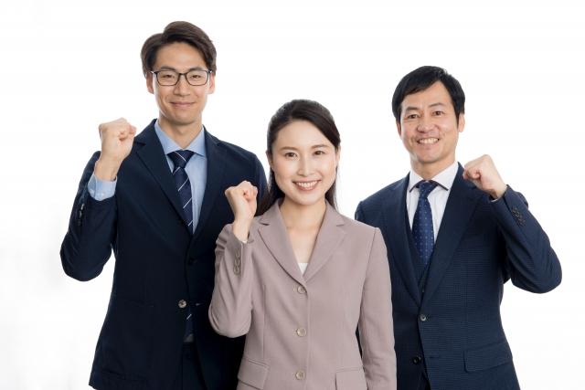 間接業務を改革するメンバー